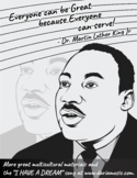 MLK Free Coloring Page