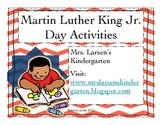 MLK Freebie by Mrs. Larsens Kindergarten
