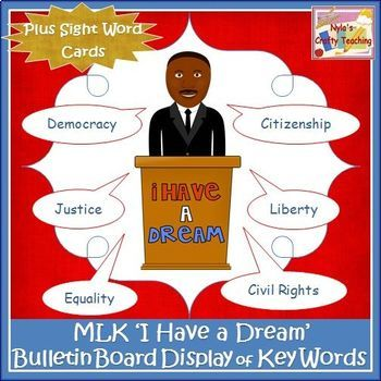 Martin Luther King Jr. Bulletin Board Set