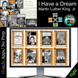 MLK I Have a Dream, Civil Rights Movement, March on Washington Digital Breakout