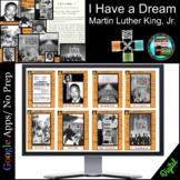 Black History MLK I Have a Dream, Civil Rights Movement Es