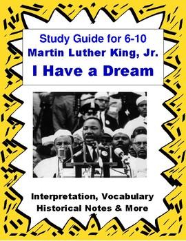 i have a dream speech summary analysis