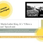 "MLK ""I Have a Dream"" Unit - High School Common Core Aligned"