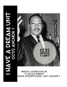 """MLK """"I have a Dream"""" RI Anchor 7 Unit"""