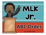 MLK Jr. ABC Order