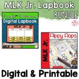 MLK Jr Activities Interactive Notebook Digital and Printab