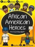 Black History Month Activities - African American Heroes + MLK Jr. Bundle