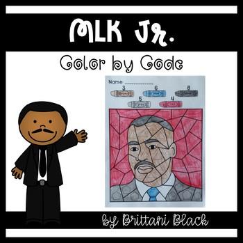 MLK Jr.~ Color by Code