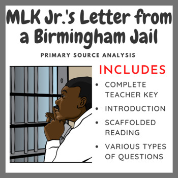 MLK Jr.'s Letter from a Birmingham Jail - Primary Source Analysis