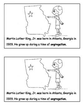 MLK Jr. Mini Book