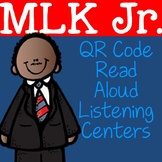 MLK Jr. QR Code Read Aloud Listening Centers