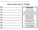 MLK Jr. Timeline Printable
