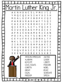 MLK Jr. Wordsearch