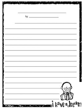 MLK Jr. Writing Activity Bundle