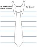 MLK Jr. tie writing prompt