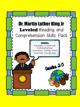 MLK Leveled Passages and Comprehension