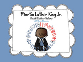 MLK Martin Luther King Jr. Social Studies - History Kindergarten and 1st Grade
