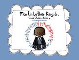 MLK Martin Luther King Jr. Social Studies - History Kinder