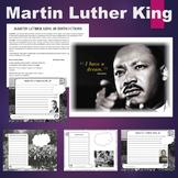 MLK - Martin Luther King Jr. Writing Activity Set
