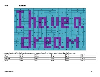 MLK Math Coloring Picture - Double Digit Addition with Regrouping