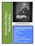 MLK Math Lab: Word Problems Featuring Martin Luther King Jr. for 4th - 6th Grade