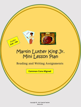 Martin Luther King Jr. Mini Lesson Plan