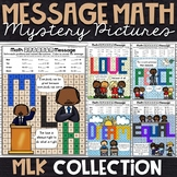 MLK Math Activity   MLK Color by Number