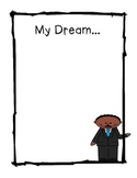 MLK My Dream Writing Stationary
