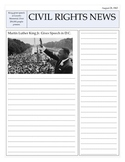 MLK Newspaper Article Template