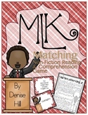 MLK Reading Comprehension & Matching Game