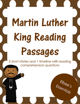 MLK Reading Passages