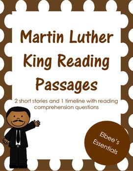 MLK Reading Passages