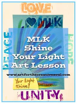MLK Shine Your Light Art Lesson