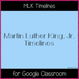 MLK Timelines (Great for Google Classroom!)