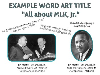 MLK Webquest - Using Google Slides - NO PREP