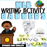 MLK Writing Activity Banner