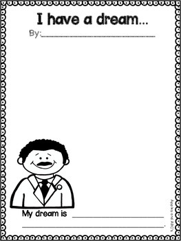 MLK Writing Paper: K-12