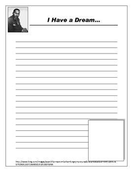 MLK Writing Worksheet