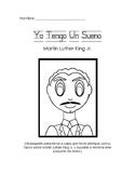 MLK homework packet in Spanish