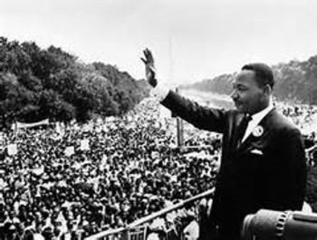 """MLK lesson and worksheet: Martin Luther King """"I Have a Dream"""" activity"""