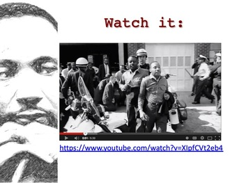 """MLK's """"Letter from Birmingham Jail"""" Introductory PowerPoint"""