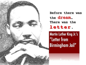 "MLK's ""Letter from Birmingham Jail"" Introductory PowerPoint"