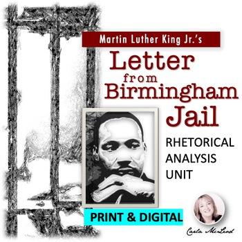 """MLK's """"Letter from Birmingham Jail"""" Rhetorical Analysis Cl"""