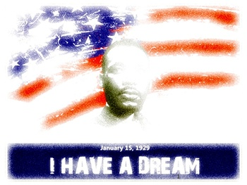 Μartin Luther King jr - Literacy interactive activities