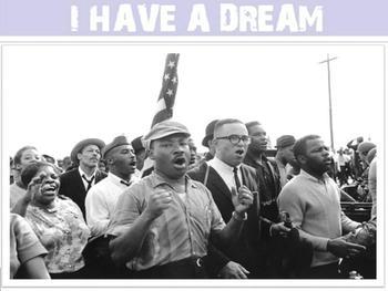 Μartin Luther King jr - interactive activities-SmartBoad