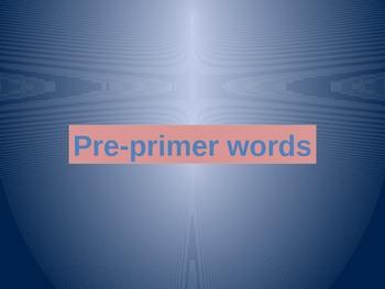 MLPP Testing Sight Words