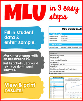 MLU Quick Calculator - For Excel and Google Sheets