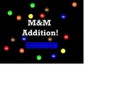 M&M Addition Flip Chart for Kindergarten and 1st Grade