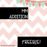 MM Addition Practice -  FREEBIE