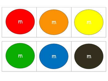 M&M Bookmarks with Discussion Prompts for Following Characters  Part 2